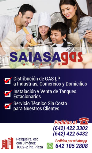 SAISA GAS OCT 31